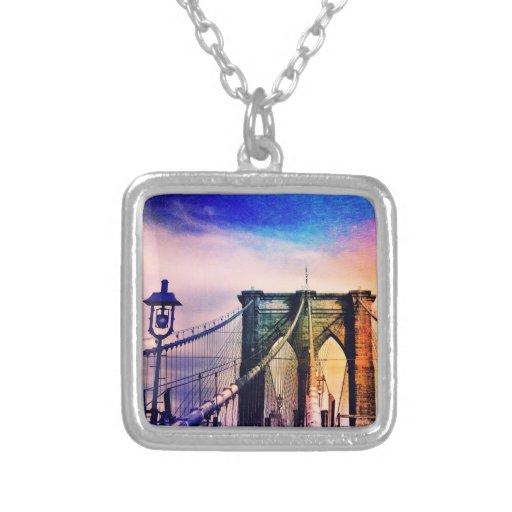 Brooklyn Bridge - Colorful - New York City Jewelry