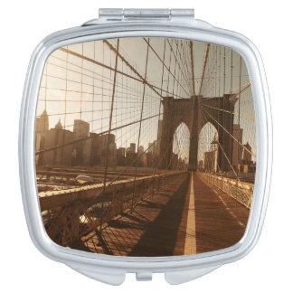 Brooklyn Bridge. Compact Mirror