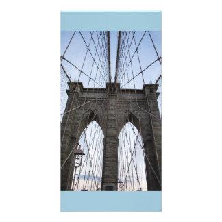 BROOKLYN BRIDGE CUSTOMISED PHOTO CARD
