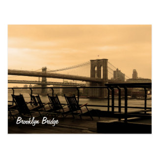 Brooklyn Bridge (customize it!) Postcard