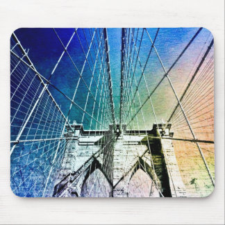 Brooklyn Bridge - Frozen in Ice - NYC Mouse Pad