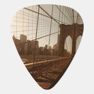 Brooklyn Bridge. Guitar Pick