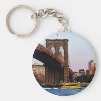 Brooklyn Bridge in NYC Original Photo Key Ring