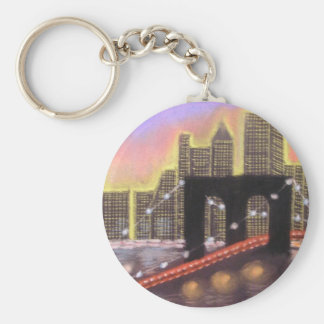 Brooklyn Bridge Key Ring