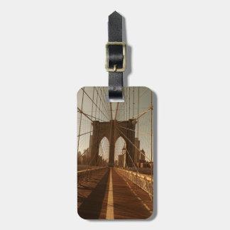 Brooklyn Bridge. Luggage Tag
