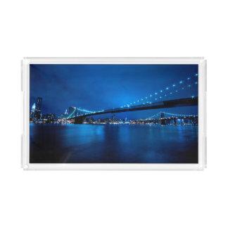 Brooklyn Bridge, New York Acrylic Tray