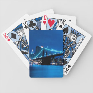 Brooklyn Bridge, New York Bicycle Playing Cards