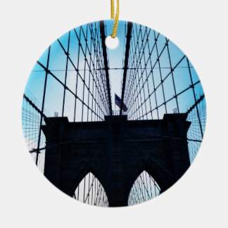 Brooklyn Bridge, New York Christmas Ornament