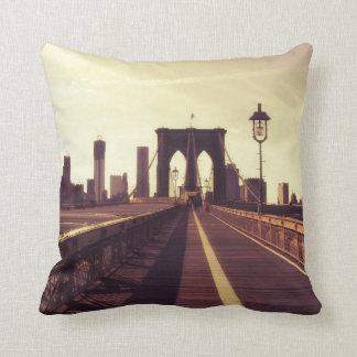 Brooklyn Bridge - New York City Cushion
