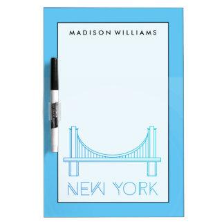 Brooklyn Bridge   New York City Dry-Erase Whiteboards