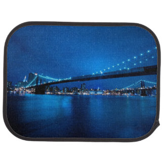 Brooklyn Bridge, New York Floor Mat