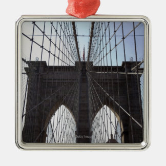 Brooklyn Bridge, New York, NY, USA 2 Christmas Ornament