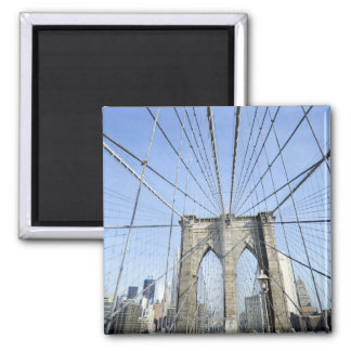 Brooklyn Bridge, New York, NY, USA Magnet