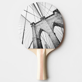Brooklyn Bridge, New York Ping Pong Paddle