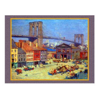 Brooklyn Bridge New York Postcard