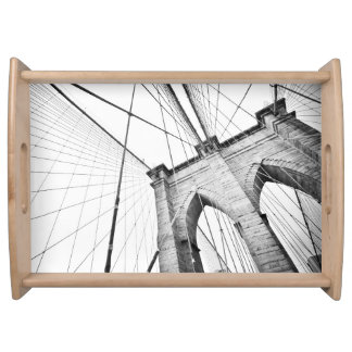 Brooklyn Bridge, New York Serving Tray