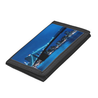 Brooklyn Bridge, New York Tri-fold Wallet