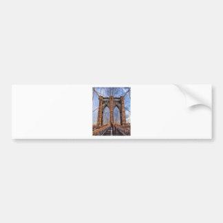 Brooklyn Bridge New York USA Bumper Sticker
