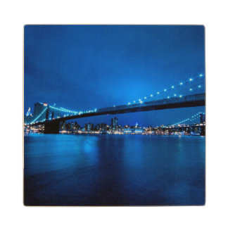 Brooklyn Bridge, New York Wood Coaster
