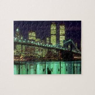 Brooklyn Bridge @ Night Puzzles