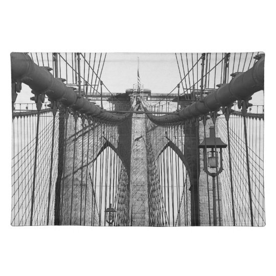 Brooklyn Bridge, NYC placemat