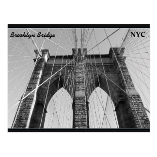Brooklyn Bridge NYC Postcard