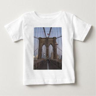 Brooklyn Bridge NYC Sun-rise on Christmas Eve Baby T-Shirt