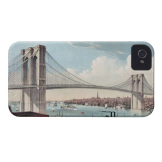 Brooklyn Bridge Painting iPhone 4 Case-Mate Case