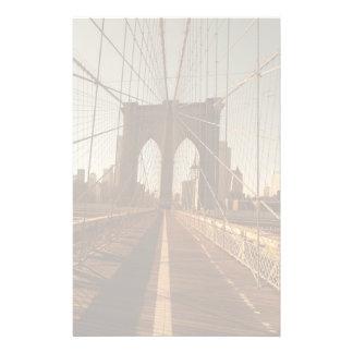 Brooklyn Bridge. Personalized Stationery