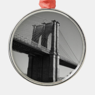 Brooklyn Bridge Photo Ornament
