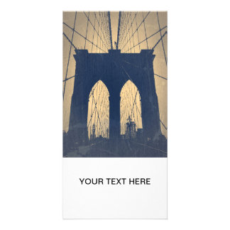 Brooklyn Bridge Picture Card