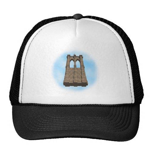 Brooklyn Bridge Pillar: 3D Model: Hat