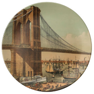 Brooklyn Bridge Plate