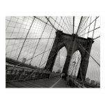 Brooklyn Bridge Postcard Postcard