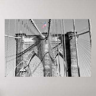 Brooklyn Bridge Poster