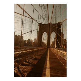 Brooklyn Bridge. Poster