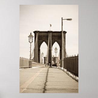 Brooklyn Bridge print