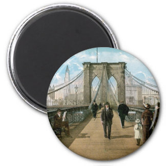 Brooklyn Bridge Promenade, New York City Magnet