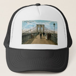 Brooklyn Bridge Promenade, New York City Trucker Hat