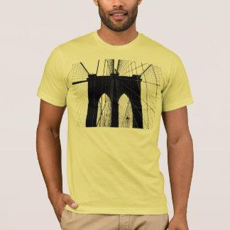 Brooklyn Bridge silhouette black T-Shirt