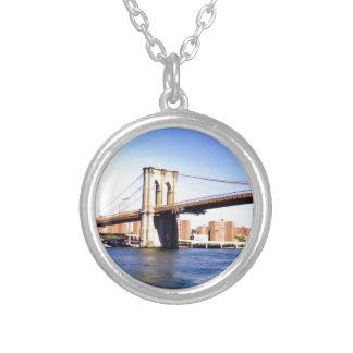 Brooklyn Bridge Silver Plated Necklace