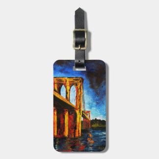Brooklyn Bridge to Utopia 2009 Luggage Tag