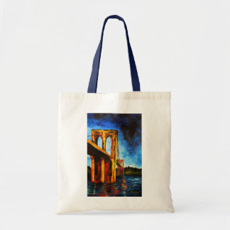 Brooklyn Bridge to Utopia 2009 Tote Bag