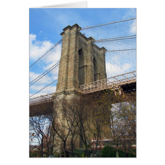 Brooklyn Bridge Tower Card