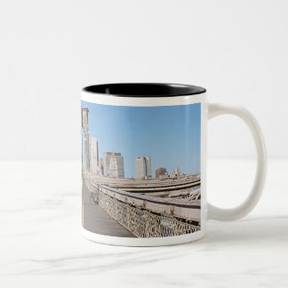 Brooklyn Bridge Two-Tone Coffee Mug