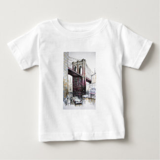 Brooklyn Bridge, USA Infant Tee Shirt