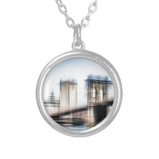 Brooklyn Brighe Round Pendant Necklace