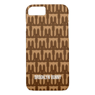 Brooklyn Bunny Bridge Pattern iPhone 8/7 Case