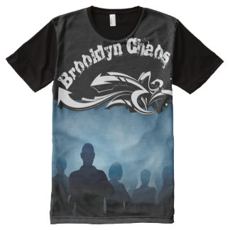 Brooklyn Chaos All-Over Print T-Shirt