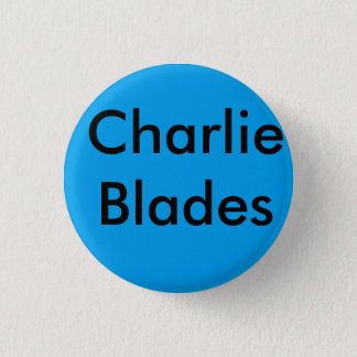 Brooklyn charlie blades bage 3 cm round badge